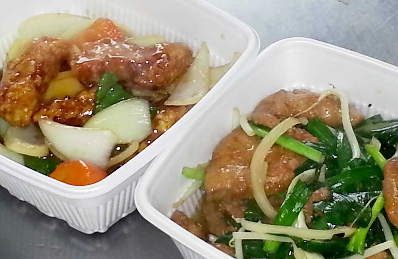 酢豚 ニラレバ